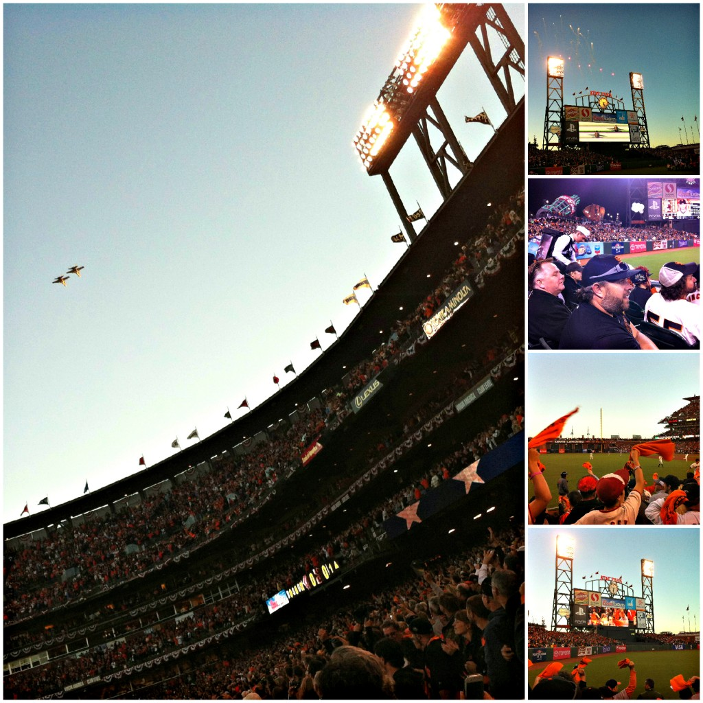 AT&T stadium San Francisco Giants Baseball Game play offs