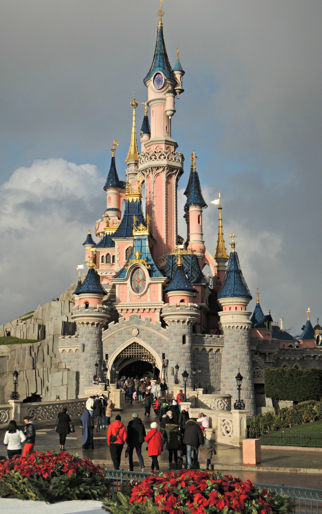 Day-Trip-to-Disneyland-Paris-castle