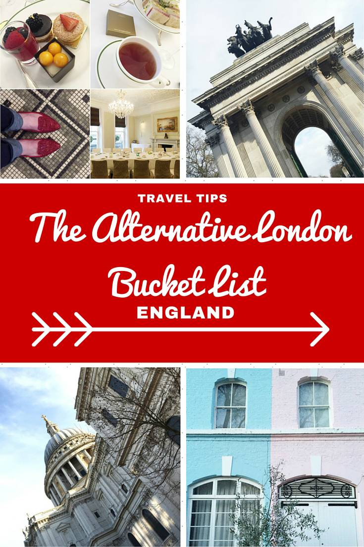 London Travel Inspiration - Thinking of heading to London on your next vacation and looking for an alternative London Bucket List guide, well you've come to the right place...from a fancy afternoon tea, to drinking out of a shoe and snooping inside a palace...this London Travel Guide has you sorted and is full of handy travel tips for your next holiday to London.