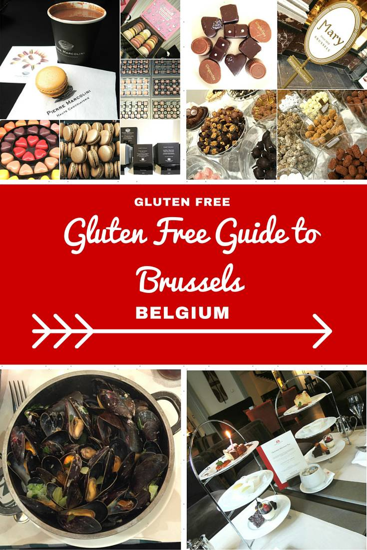 Belgium Travel Inspiration - A Guide to Eating Gluten Free in Brussels, Belgium.  You won't go hungry on your next vacation with these handy travel tips on where to find your gluten free treats while travelling in Brussels! Brussels is a great holiday destination when it comes to gluten free food, you won't leave hungry!