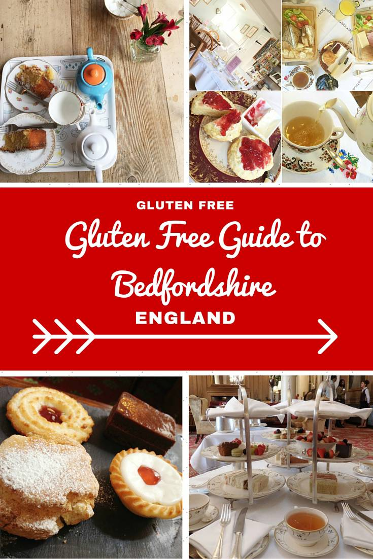 England Travel Inspiration - A Guide to Eating Gluten Free in Bedfordshire, England.  You won't go hungry on your next vacation with these handy travel tips on where to find gluten free food while travelling in Bedfordshire! Warning: the images will make you drool.