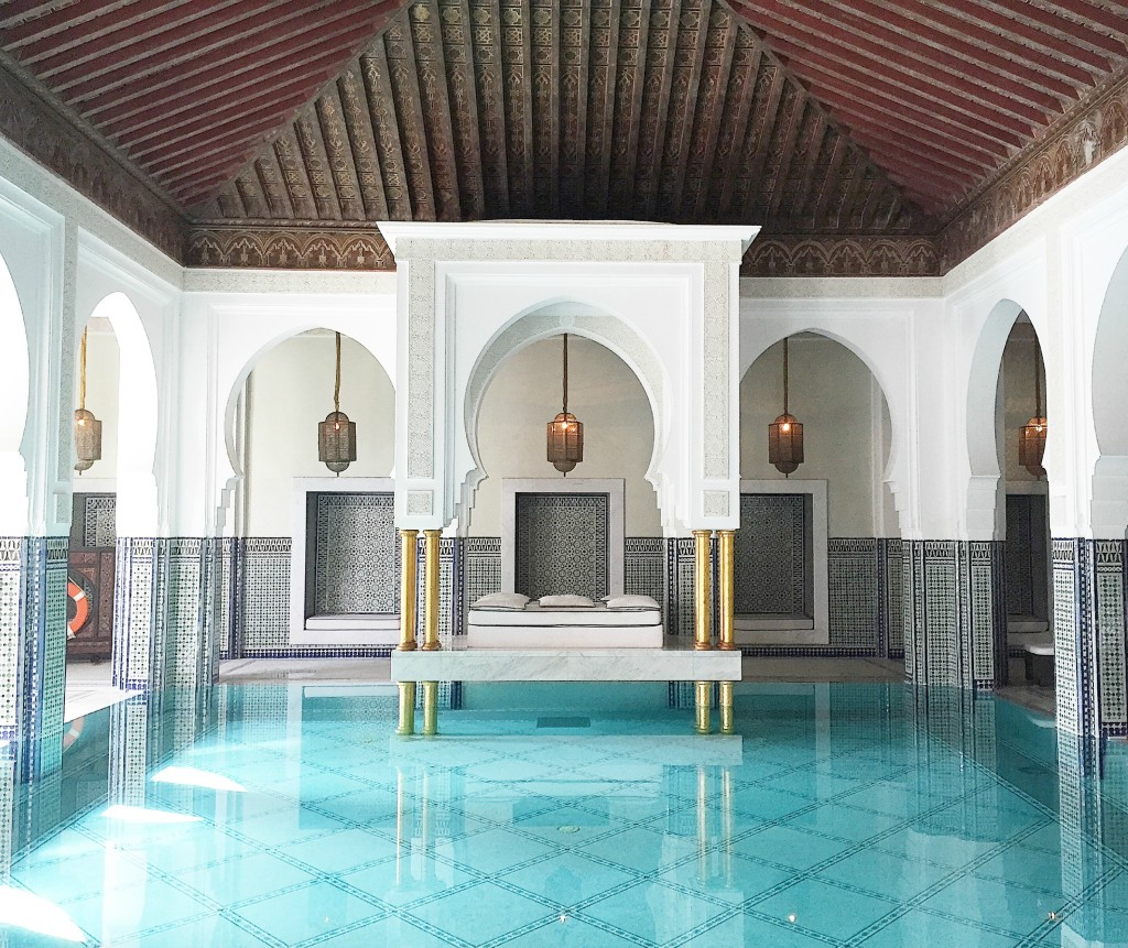 Morocco travel inspiration a relaxing spa day at la mamounia hotel in marrakech morocco