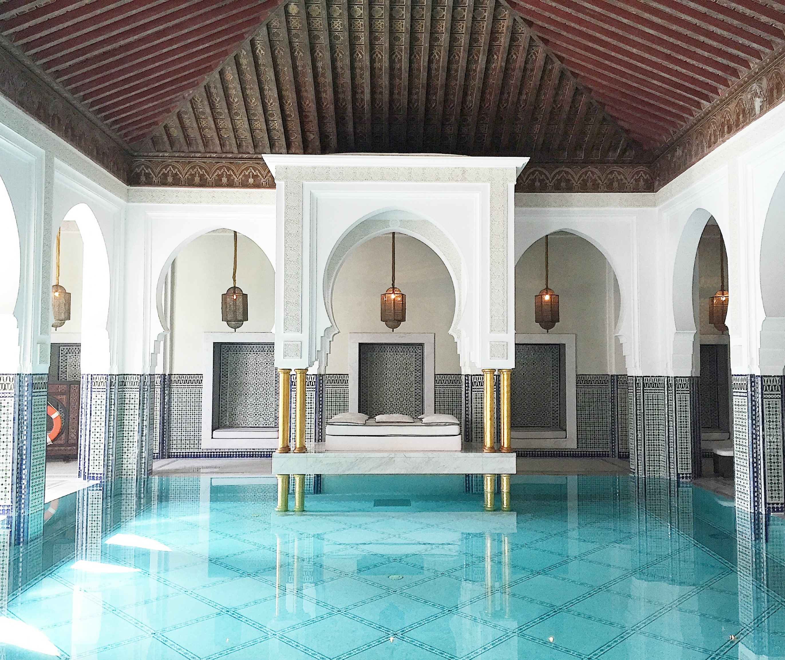 a relaxing spa day at la mamounia hotel marrakech. Black Bedroom Furniture Sets. Home Design Ideas