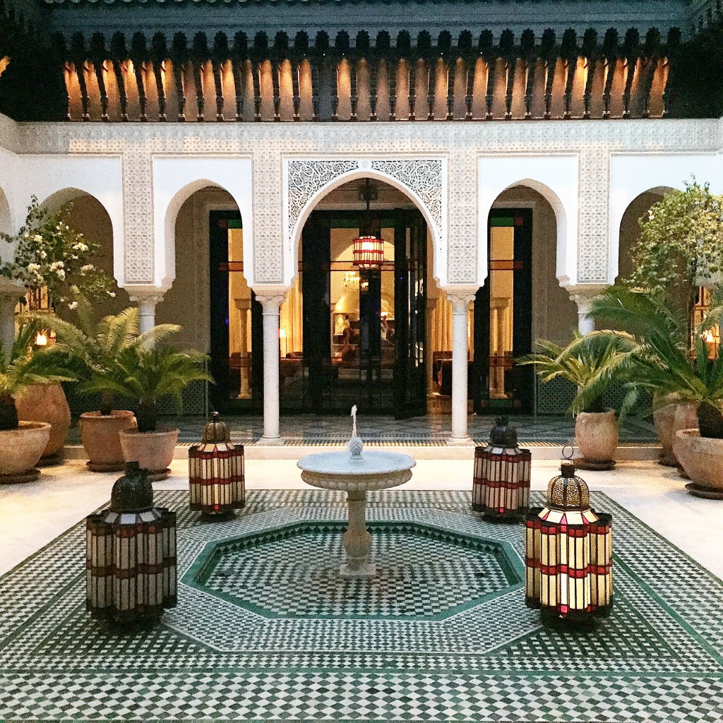 A relaxing spa day at la mamounia hotel marrakech for Hotel design marrakech