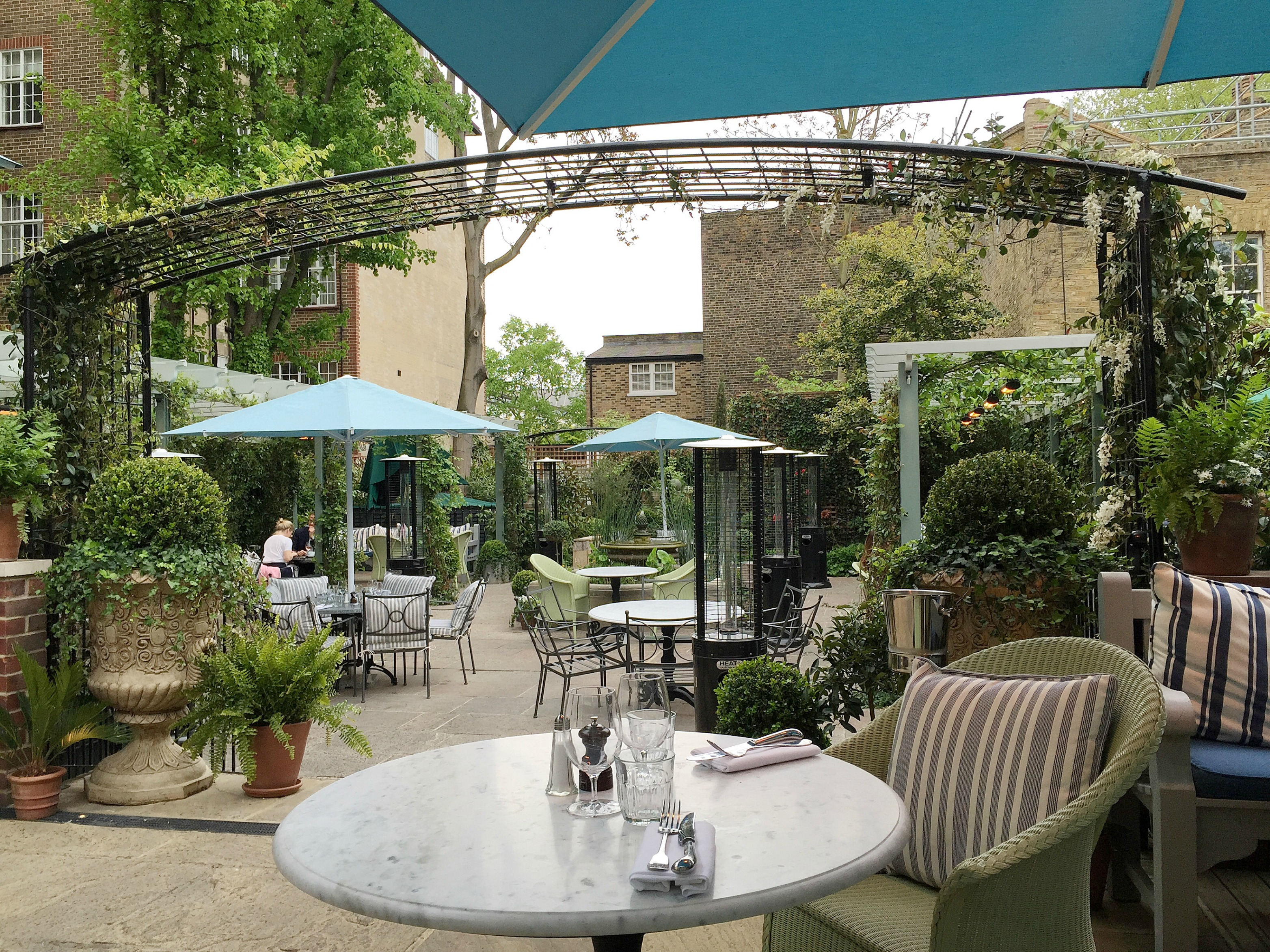 Gluten Free Dining At The Ivy Chelsea Garden London
