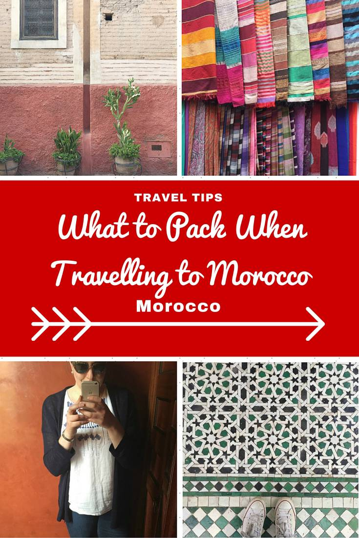 Morocco Travel Tips: Advice on what female travellers should wear and pack when travelling to Morocco. Dressing respectfully means less hassle so you will enjoy your vacation more!