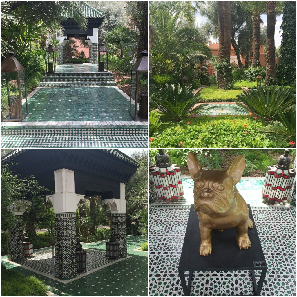 Morocco Travel Inspiration - my review of the luxury hotel, La Mamounia Marrakech in Morocco.  Pop on over to the blog to check out the luxury hotel rooms, spa and grounds of this stunning iconic hotel - this is truly one of the most amazing hotels you will ever stay at and you can see why Winston Churchill love this Marrakech hotel.
