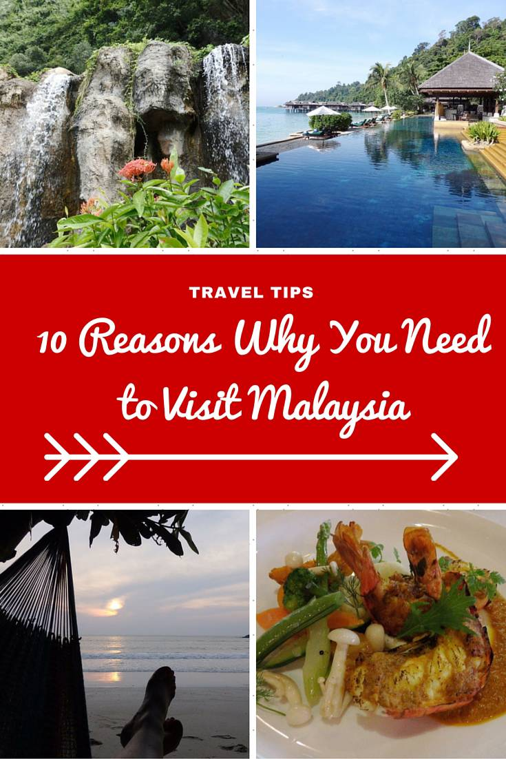 Malaysia Travel Inspiration - 10 Reasons Why You Need to Visit Malaysia...seriously number one has to be the Malaysian Food!  Pop on over to see what you need to add to your Malaysia Travel Bucket List and a few handy travel tips for Malaysia.