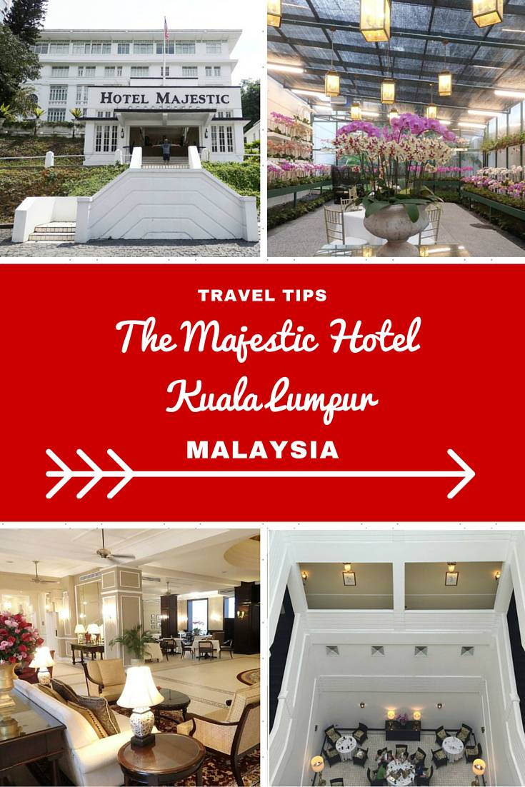 Malaysia Travel Inspiration - my review of the luxury hotel, The Majestic Hotel in Kuala Lumpur, Malaysia.  Pop on over and check out the luxury hotel suite and how your butler can organise all your Kuala Lumpur shopping trips for free!