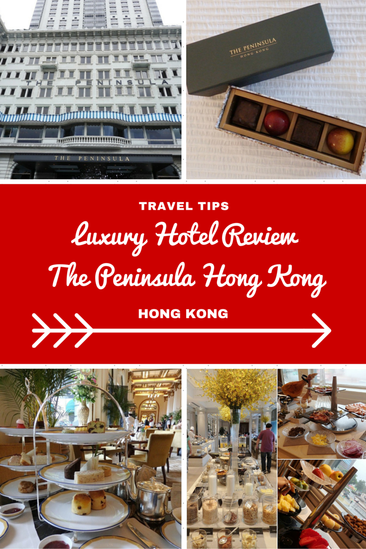 Hong Kong Travel Inspiration - Thinking of visiting Hong Kong on your next vacation to Asia then why not check out my hotel review of this iconic luxury hotel in Hong Kong famous for it's afternoon tea and also it's fleet of Green Rolls Royce vehicles which featured in a James Bond movie.  Click the link to read more of my hotel review of The Peninsula Hong Kong.