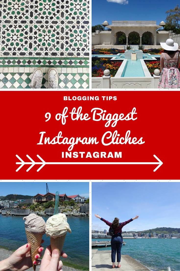 Blogging Tips - 9 of the Biggest Instagram Cliches...a very tongue in cheek post of the biggest Instagram poses from Shoefies to the Back Poser!  If you want some instagram ideas then this will help you out...just don't forget to insert an inspiration quote.