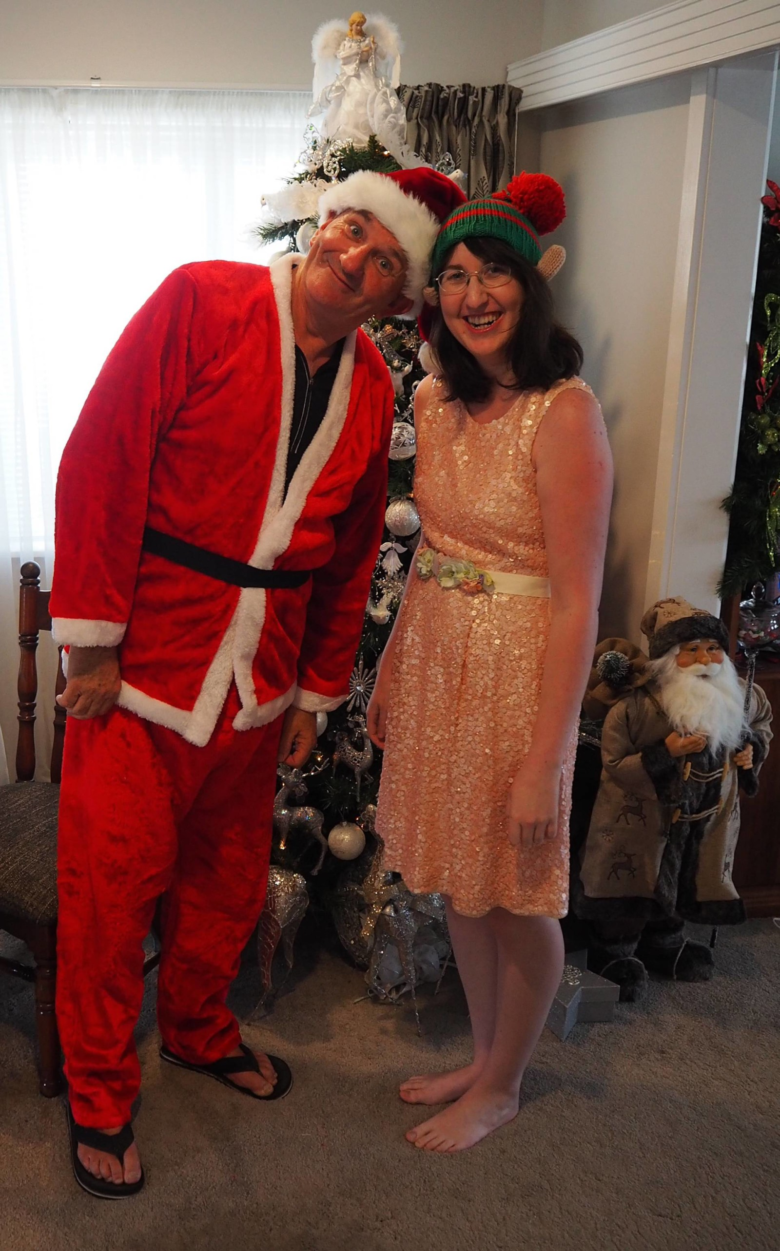 Christmas Day 2015 in New Zealand - Around the World in 80 Pairs of Shoes