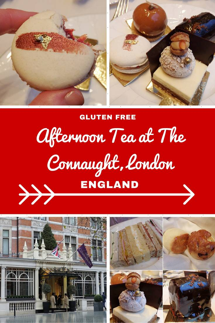 London Travel Inspiration - Thinking of heading to London on your next vacation and wanting to eat a yummy afternoon tea. Why not read my review of the gluten free afternoon tea at The Connaught, one of London's most luxurious hotels...warning the images will make you drool! There are plenty of gluten free food travel tips and afternoon tea reviews at my website www.aroundtheworldin80pairsofshoes.com