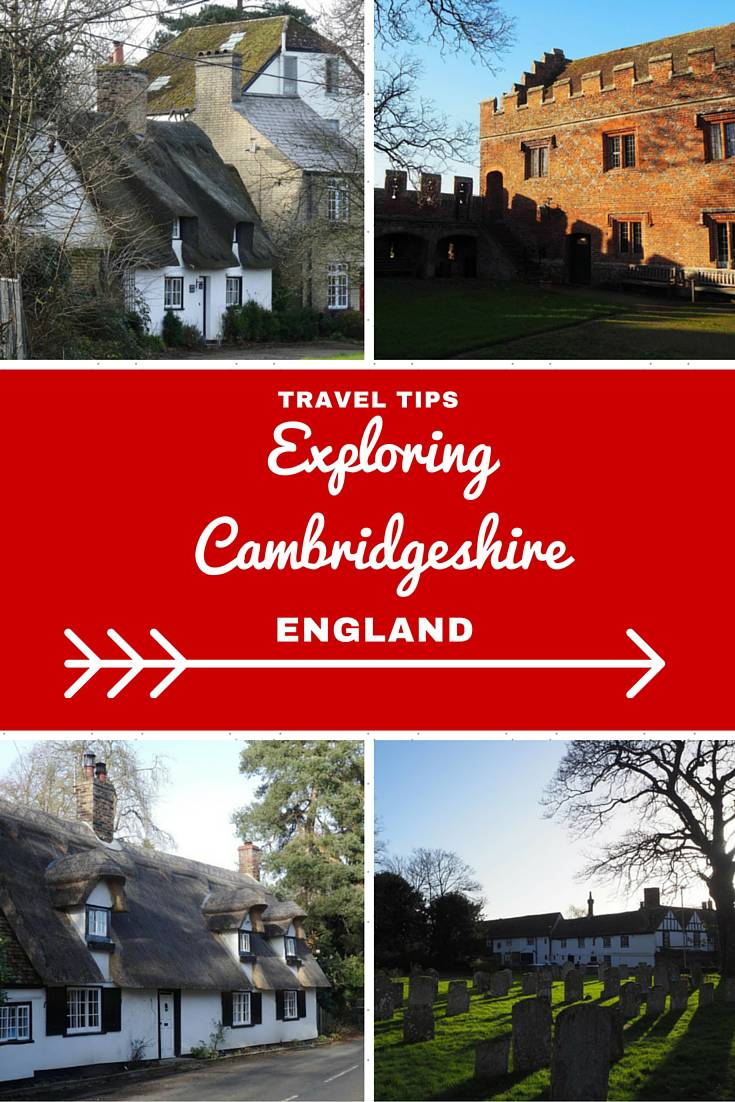 England Travel Inspiration - The perfect day trip exploring Cambridgeshire, England. There is more to this beautiful county than just Cambridge from cute little villages, telephone boxes made into libraries, thatched cottages and castles plus when in doubt where to find a cup of tea! Click the link to read more about Cambridgeshire and my travel tips for the county.