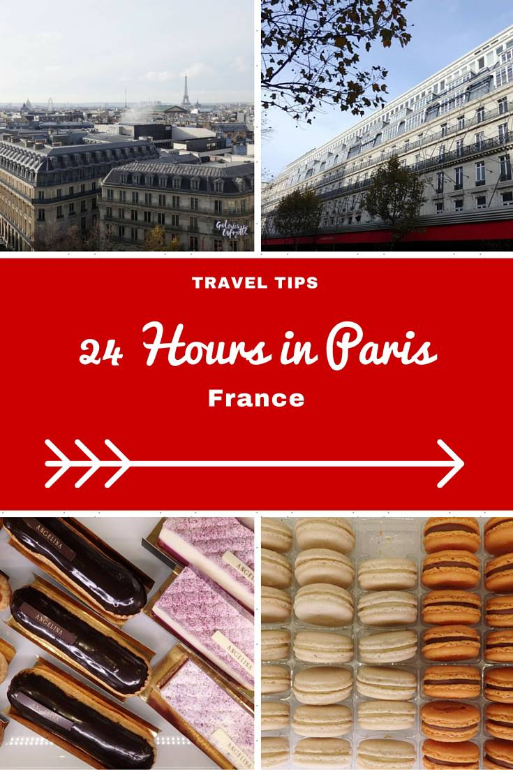 France Travel Inspiration - visiting Paris, France on your next vacation for only 24 hours then here is my guide of things to do and see in the French capital when you're short of time. Paris can be a perfect shopping destination and I've included my handy gluten free food traveling tips in there as well.
