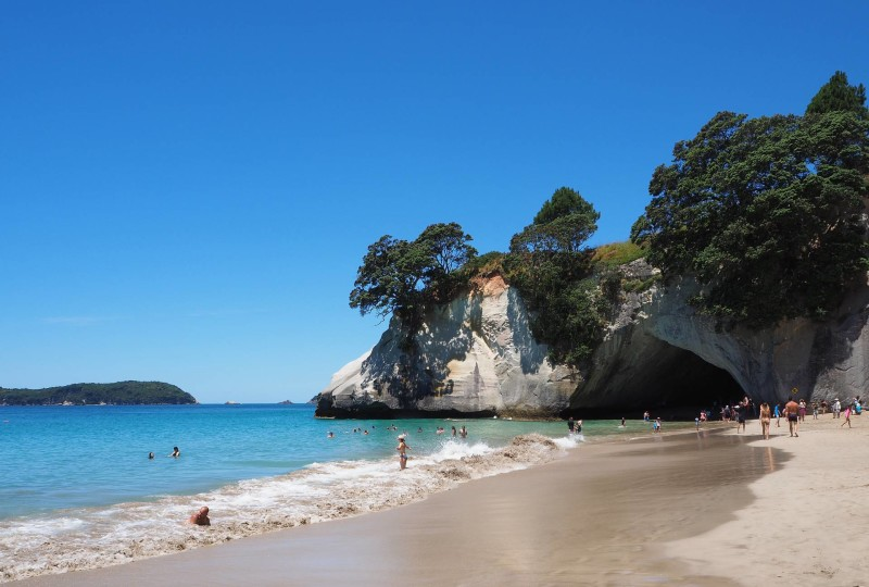 New Zealand Travel Inspiration - A visit to Cathedral Cove New Zealand should be on everyones New Zealand Travel Bucket List especially for fans of Narnia. Pop on over to read about all the Travel Tips you will need for a perfect day in the Coromandel