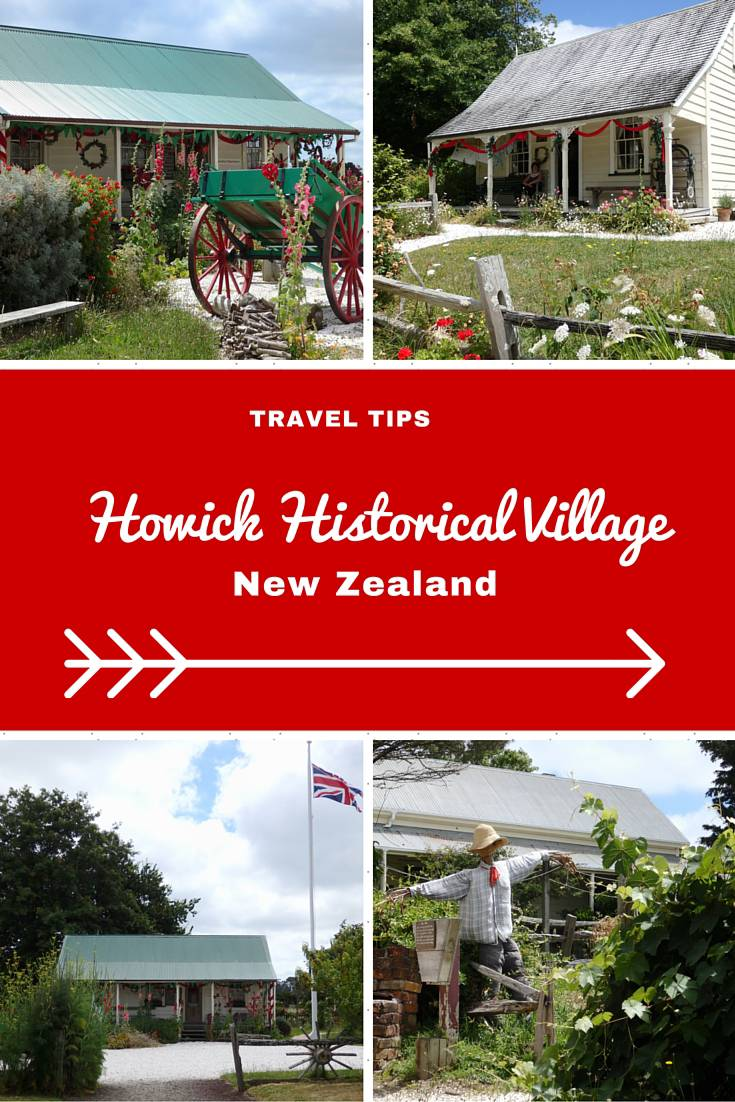 New Zealand Travel Inspiration - Visiting Auckland on your next vacation then check out my Travel Tips for Auckland.  The Howick Historical Village is one of New Zealand's best kept secrets and tells the story of how the first settlers dealt with life including taking a look into their cute little vintage cottages!