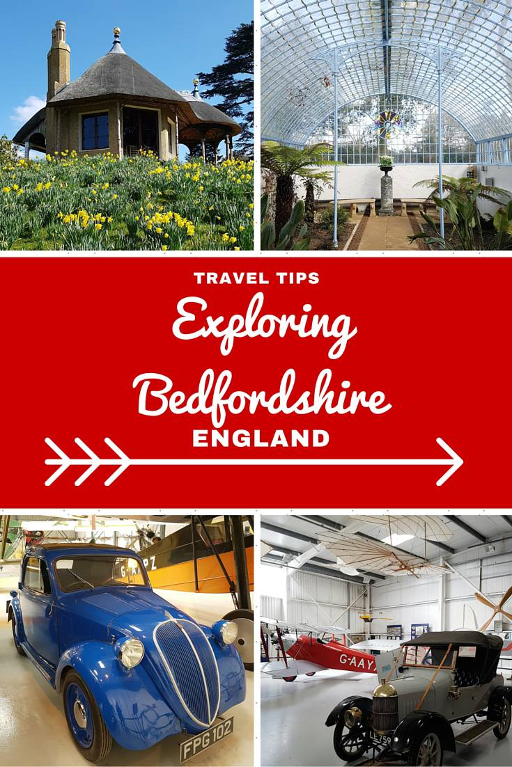 England Travel Inspiration - The perfect day trip exploring Bedfordshire, England. Bedfordshire is the home of Afternoon Tea and and brimming with WW2 aviation history which you can visit at The Shuttleworth Collection and gorgeous stately homes. Click the link to read more about Bedfordshire and my travel tips for the county.