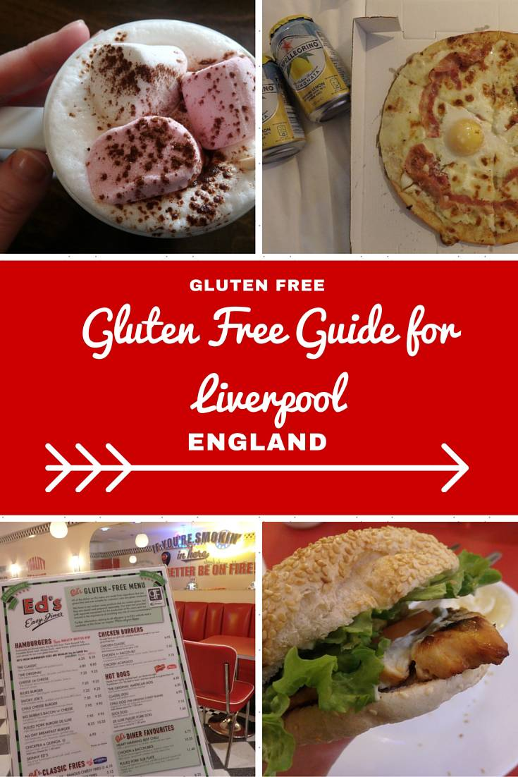 England Travel Inspiration - A Guide to Eating Gluten Free in Liverpool, England. You won't go hungry on your next vacation with these handy travel tips on where to find gluten free food including breakfast, gluten free afternoon teaand a dirty gluten free burger while travelling in Liverpool! Warning: the images will make you drool.