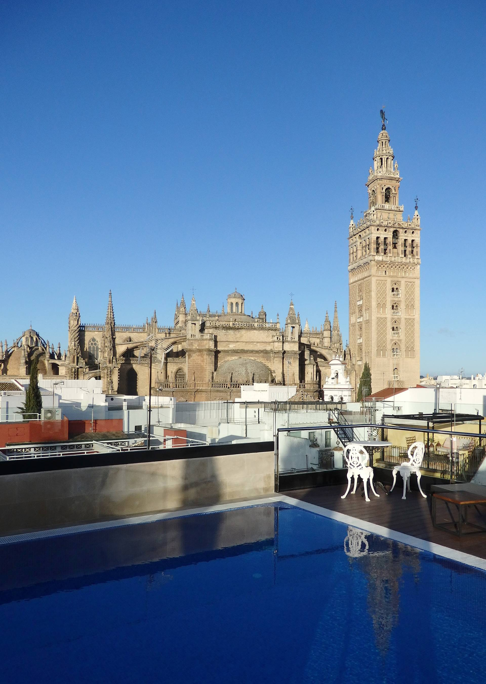 Hotel review hotel casa 1800 seville spain around the for Hoteles en sevilla con piscina climatizada