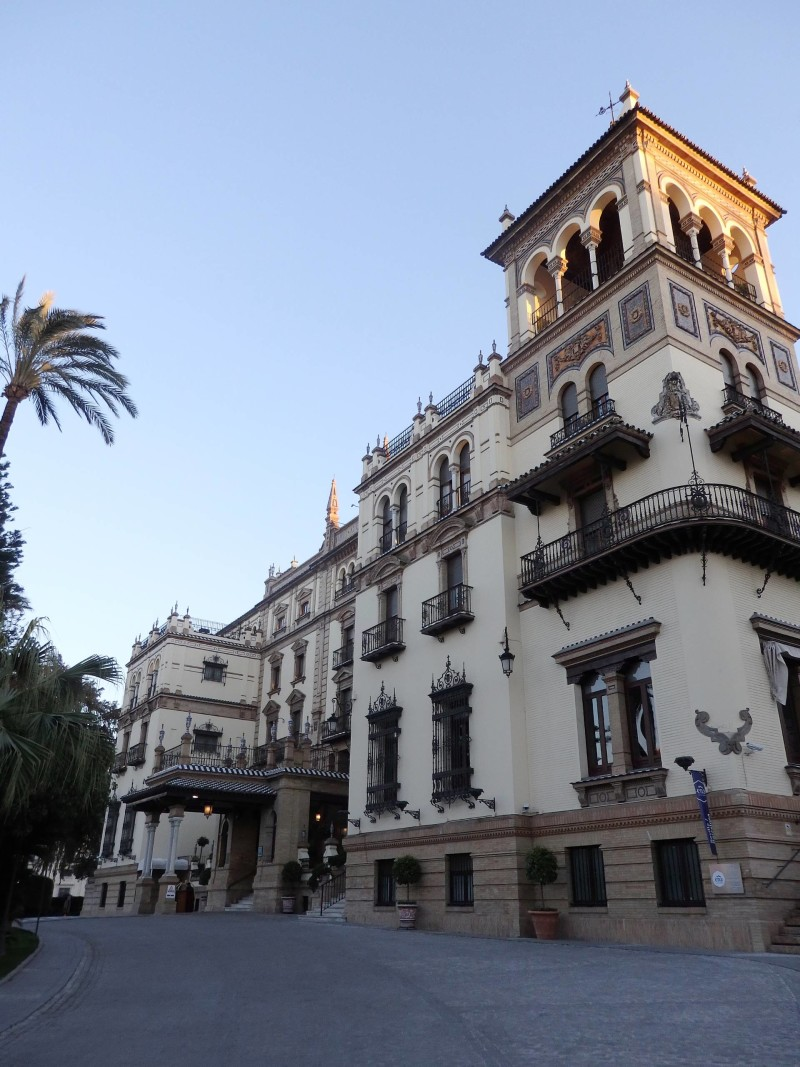 Spain Travel Inspiration - Thinking of visiting Seville on your next vacation to Europe then why not check out hotel review of the iconic five star property, Hotel Alfonso XIII Seville, Spain with it's gorgeous decor and spacious rooms. Click the link to read more of my hotel review of Hotel Alfonso XIII.