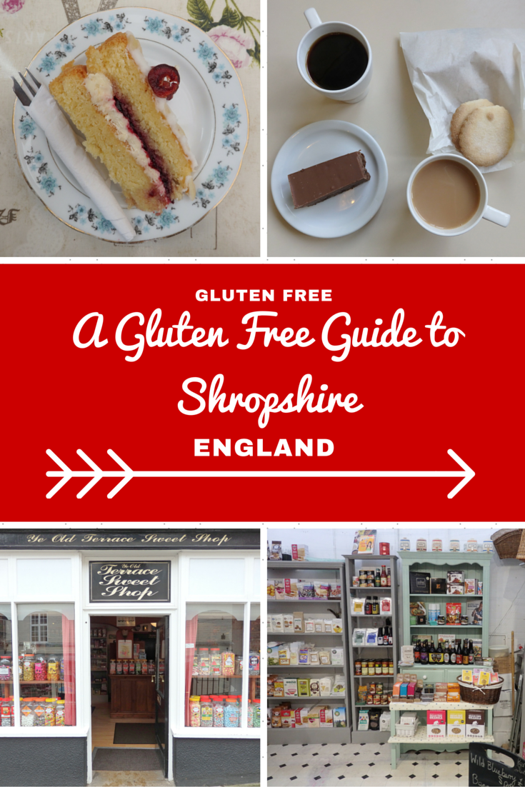 England Travel Inspiration - My Gluten Free Shropshire Guide is packed with handy travel tips on places to find gluten free food on your next vacation to England including where to find Shrewsbury biscuits and a great piece of gluten free cake. Warning: the images will make you drool.