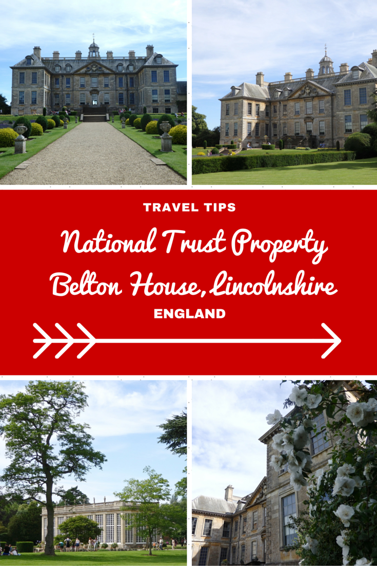 England Travel Inspiration - A day touring the National Trust properties in Lincolnshire including Belton House which featured as Rosings in the BBC adaption of Pride and Prejudice. Click the link to read my Lincolnshire Travel Tips!
