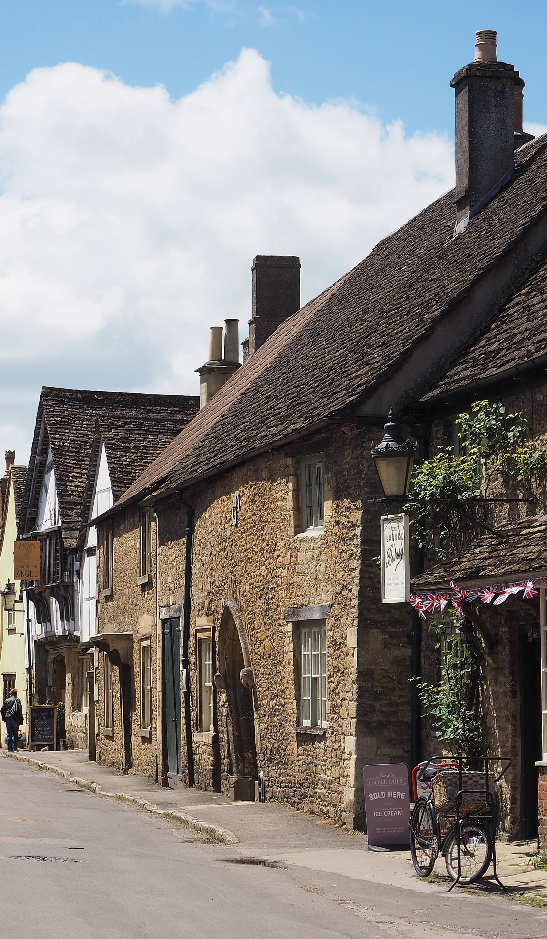 Strolling The Streets Of Meryton Aka Lacock Wiltshire