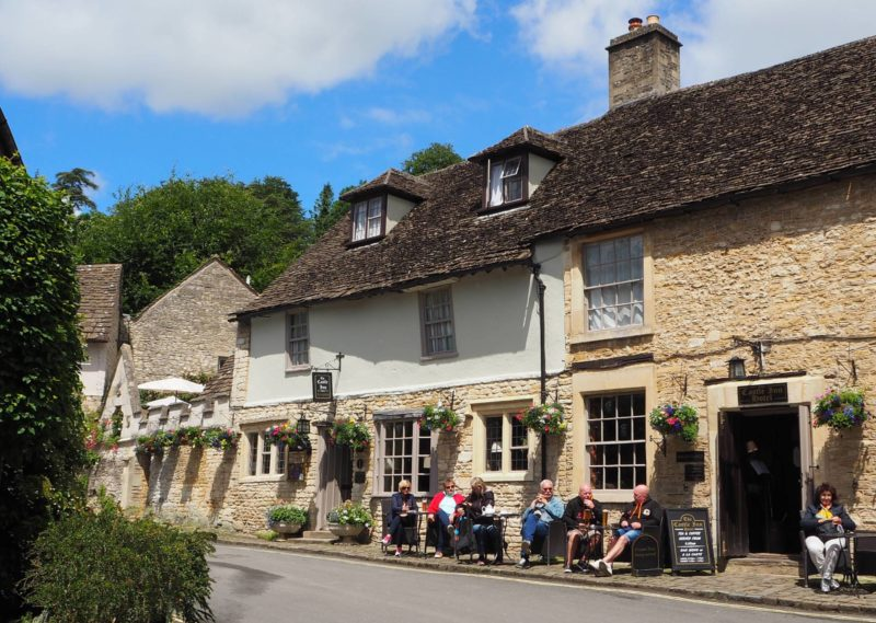 England Travel Inspiration - The perfect day trip from London or Cardiff exploring Wiltshire and the beautiful village of Castle Combe. Castle Combe is located in the Cotswolds and has been used in many movies due to it's beautiful honey coloured cottages. Click the link to read my Castle Combe Travel Tips!