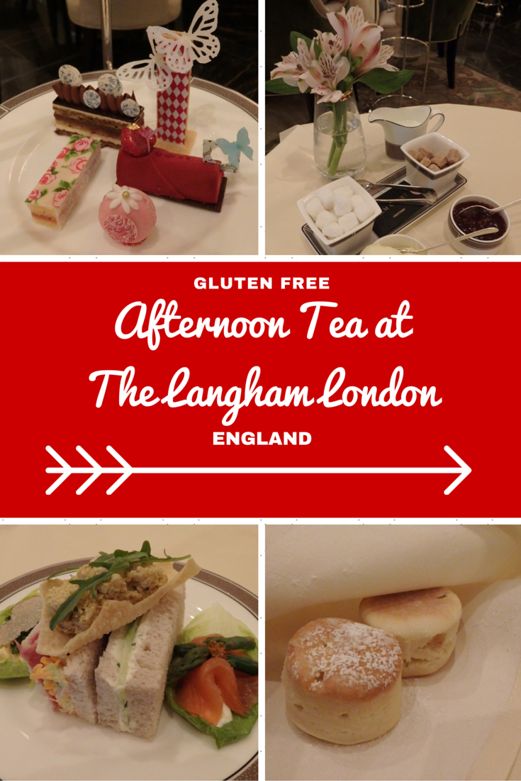 London Travel Inspiration - Thinking of heading to London on your next vacation and wanting to eat a yummy afternoon tea. Why not read my review of the gluten free afternoon tea at The Langham London; one of London's most luxurious hotels...warning the images will make you drool! There are plenty of gluten free food travel tips and afternoon tea reviews at my blog...click this link to read more