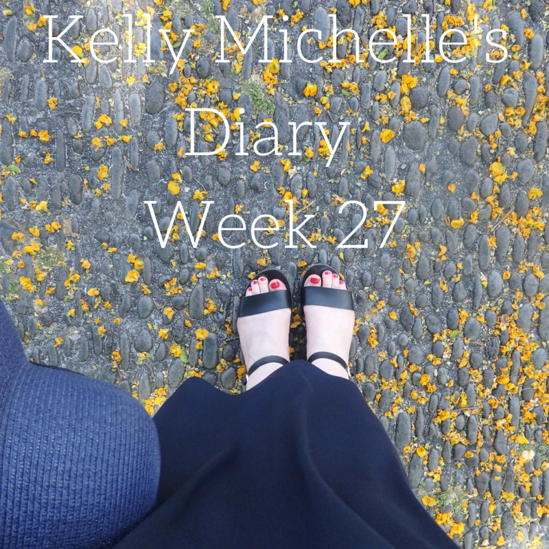 Kelly Michelle's Diary Week 27