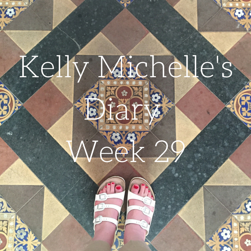 Kelly Michelle's Diary Week 29, 2016