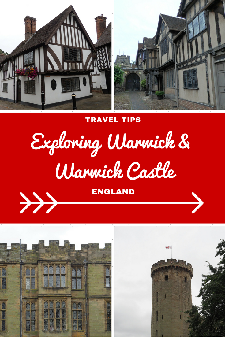 England Travel Inspiration - Exploring Warwick in Warwickshire; a delightful town with it's own castle! I give my honest thoughts on Warwick Castle and also where to find a very yummy gluten free afternoon tea in Warwick. Click through to read my travel tips for Warwick, Warwickshire including where to find gluten free food in the town.