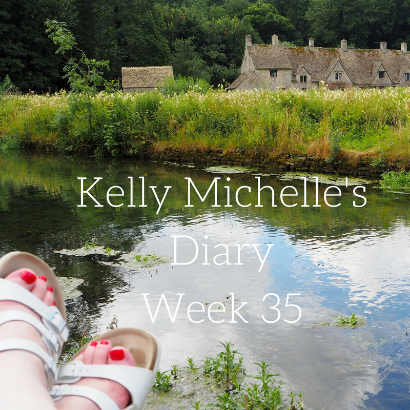 Kelly Michelle's Diary Week 35, 2016