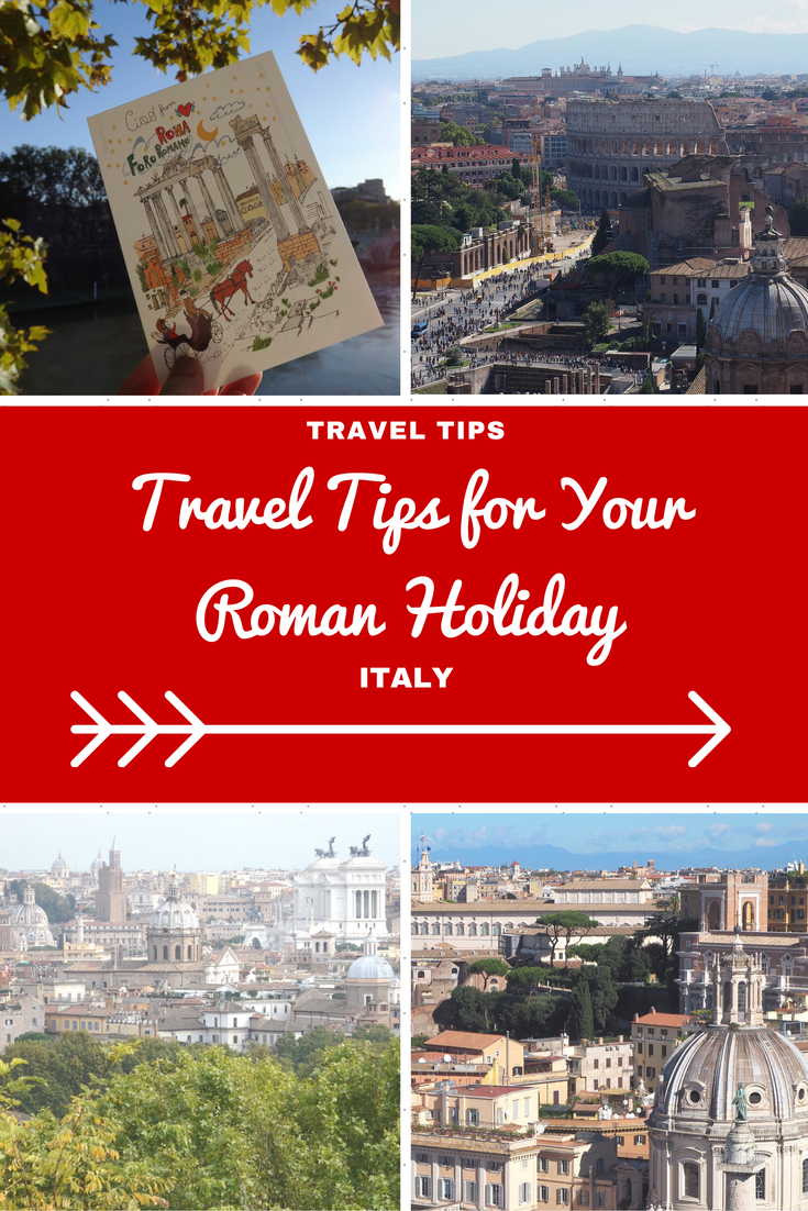 Italy Travel Inspiration - My handy travel tips for your Roman Holiday including where to buy your tickets without the 2 euro online surcharge for the Colosseum and Museums, what to wear on your feet and how to enjoy your adventures in Rome without getting ripped off. Rome is a serious bucket list destination so make sure you tick off all the beautiful places including the Vatican, Sistine Chapel and all the ancient sights along the way.