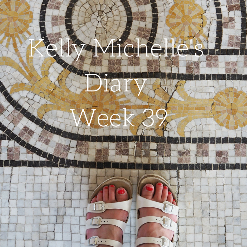 Kelly Michelle's Diary Week 39, 2016