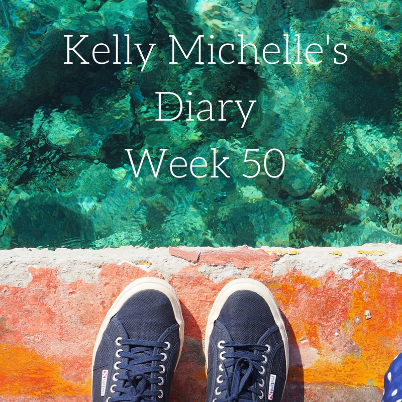 Kelly Michelle's Diary Week 50, 2016