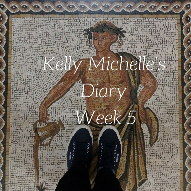 Kelly Michelle's Diary Week 5, 2017