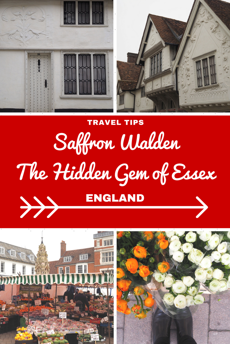 England Travel Inspiration - exploring Saffron Walden, the hidden gem of Essex! Home to Oliver Cromwell's headquarters, a large number of beautiful buildings with pargetting which just has to be seen to be believed and a lively Saturday market which has taken place since 1141 in the town. Saffron Walden is a perfect pit stop on a road trip through England and I also have a great little tip on where to find gluten free cake. Pop on over to the blog to read my travel tips for Saffron Walden and to see some more pretty photos of this gorgeous market town..so many beautiful places to visit on your next vacation but so little time.