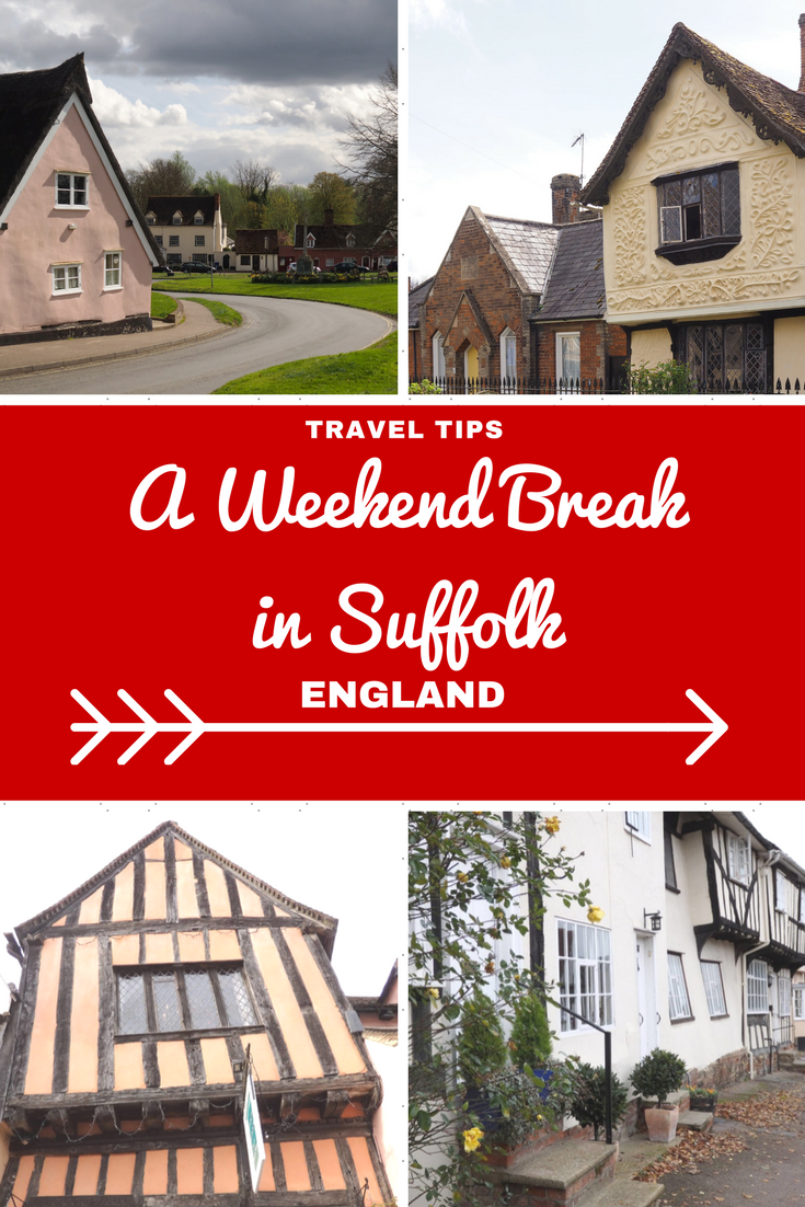 England Travel Inspiration - A Weekend Break in Suffolk...A Travel Guide for Wobbly Building & Chocolate Box Village Lovers. Pop on over a check out my one night itinerary for this gorgeous English county including two Harry Potter locations, a few Stately Homes, the ever popular medieval village of Lavenham and a few lesser known villages in the area which are just beautiful places to visit and I've thrown in some very yummy gluten free food options!