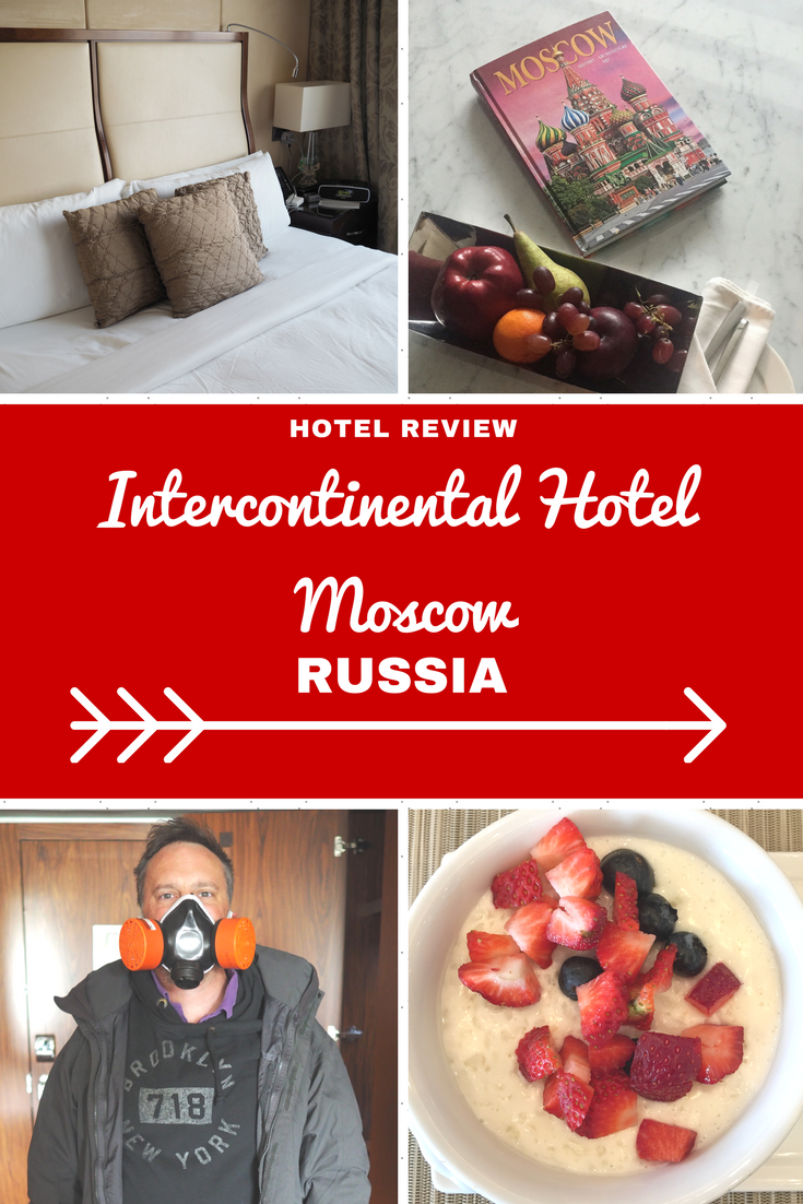 Russia Travel Inspiration - my hotel review of the Intercontinental Moscow; one of Moscow's top hotels and situated 10 minutes away from Red Square. The Intercontinental brand is always fantastic when it comes to gluten free food and this property is no different. Pop on over to the blog to read more about this luxury hotel in Moscow.