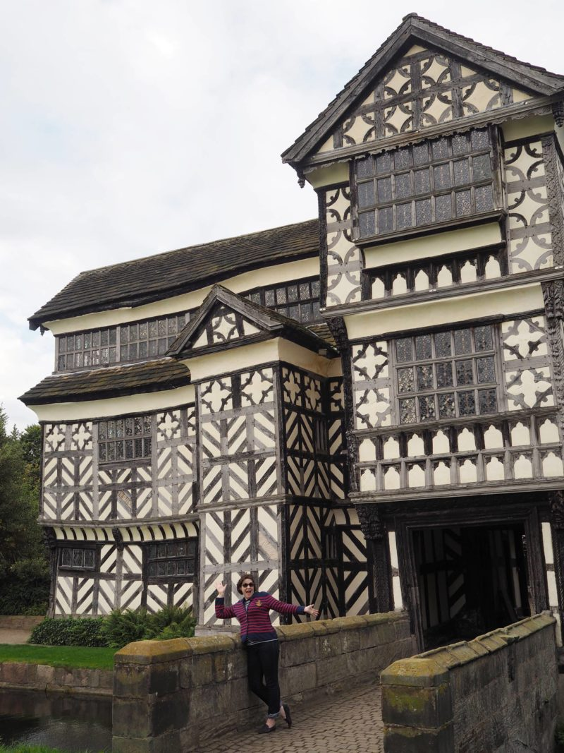 England Travel Inspiration - National Trust Property Little Moreton Hall in Cheshire during Autumn