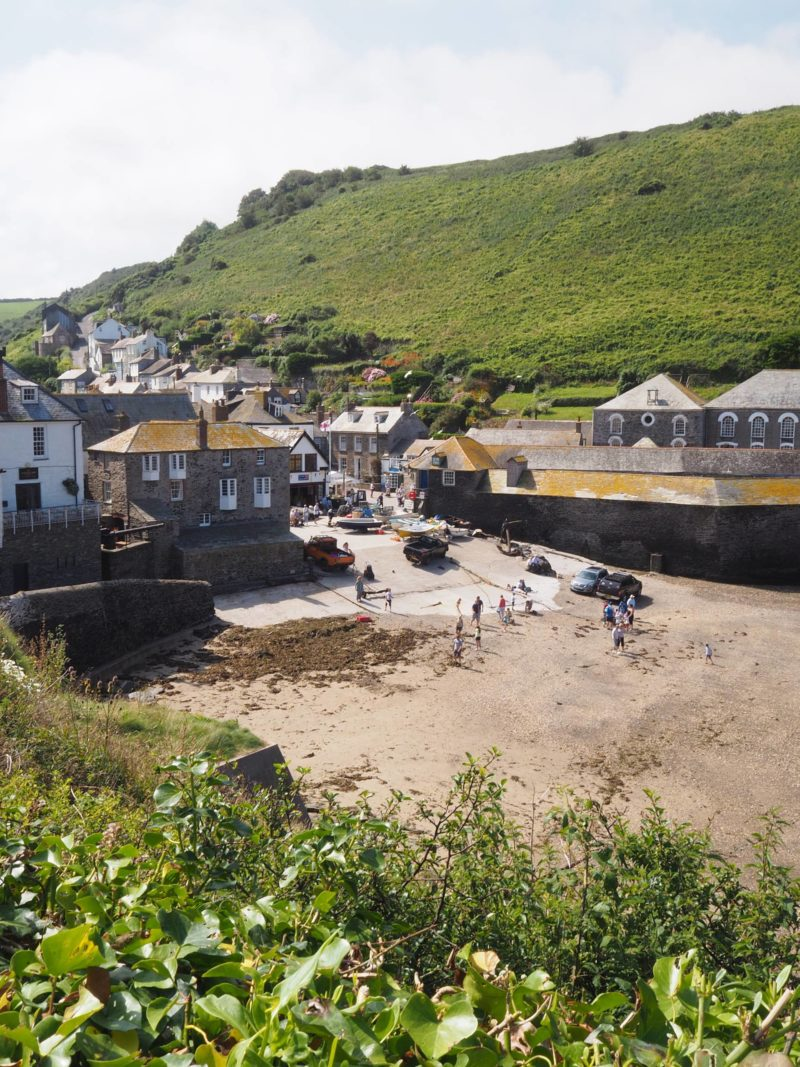 England Travel Inspiration - Port Isaac, A Bucket List Destination for Doc Martin Fans! This beautiful fishing village in Cornwall is well known as the filming location for the TV series, Doc Martin but is a beautiful destination in it's own right and a perfect vacation spot. Click to read more including my travel and gluten free tips.
