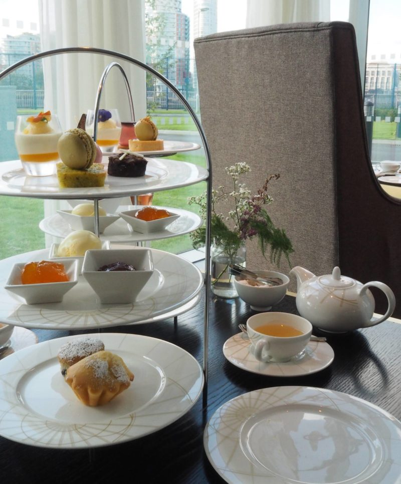 London Travel Inspiration - Gluten Free Afternoon Tea at Intercontinental O2 Canary Wharf