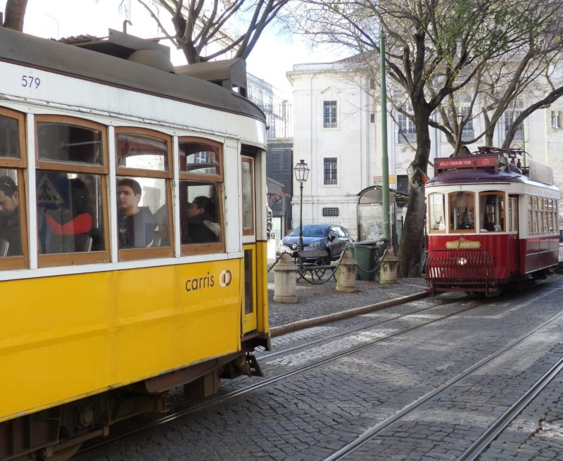 Portugal Travel Inspiration - Portugal City Break Destinations: Lisbon vs Porto! These two beautiful destinations are big city break hitters currently but which one is the best for things to do, food, tiles and safety for solo women travellers?