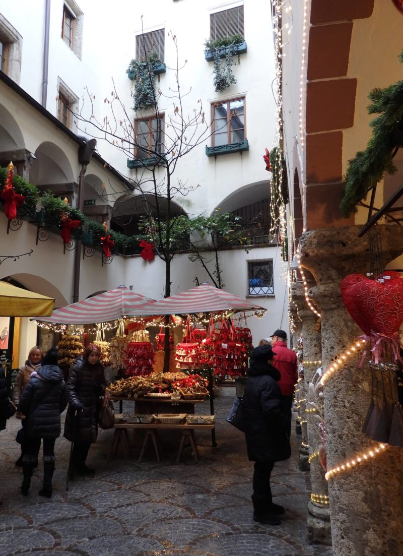 Austria Travel Inspiration - A Christmas Market Guide to Salzburg and Surrounding villages. Pop over to the blog to see Salzburg during winter, all dressed up in it's festive finest along with my travel and gluten free tips!