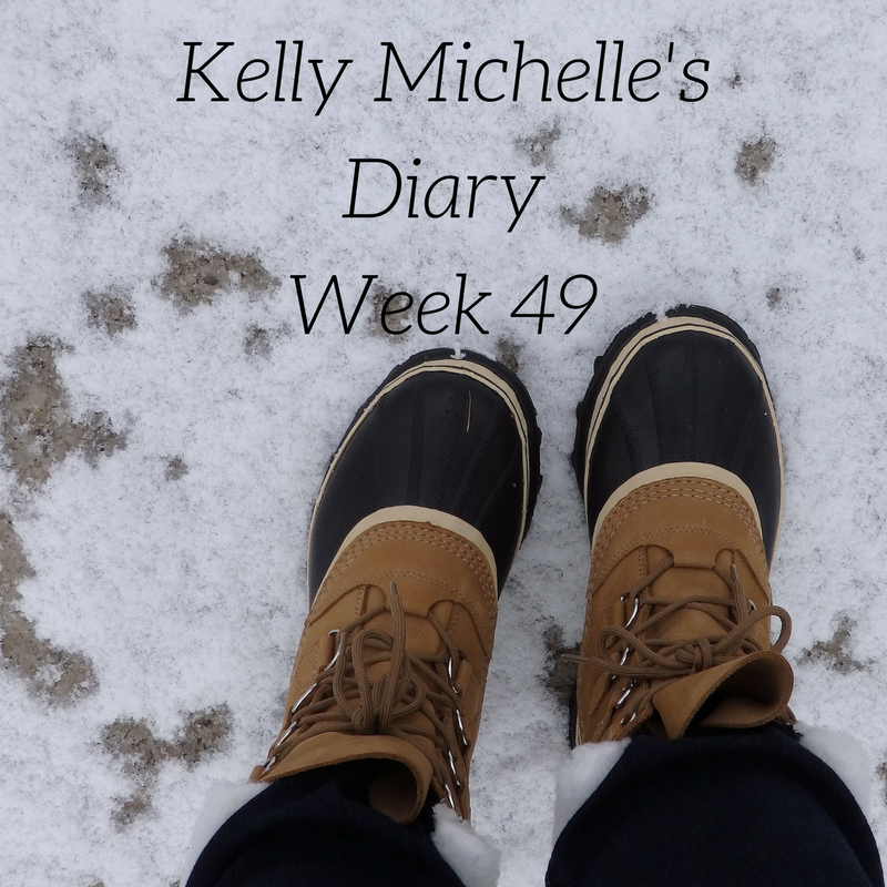 Kelly Michelle's Diary Week 49, 2017