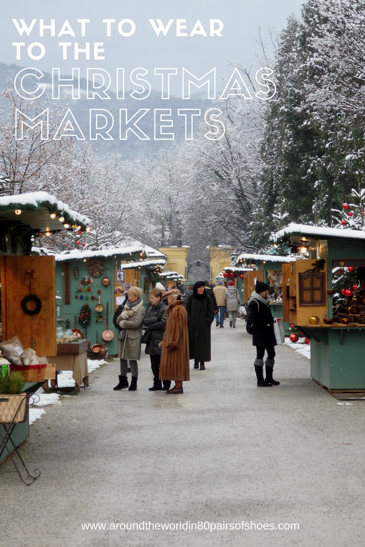 Christmas Market Travel Inspiration - What to Wear to the Christmas Markets in Europe and how to avoid frost bite! Click the blog post for all my tips on how to stay warm and enjoy your next vacation.