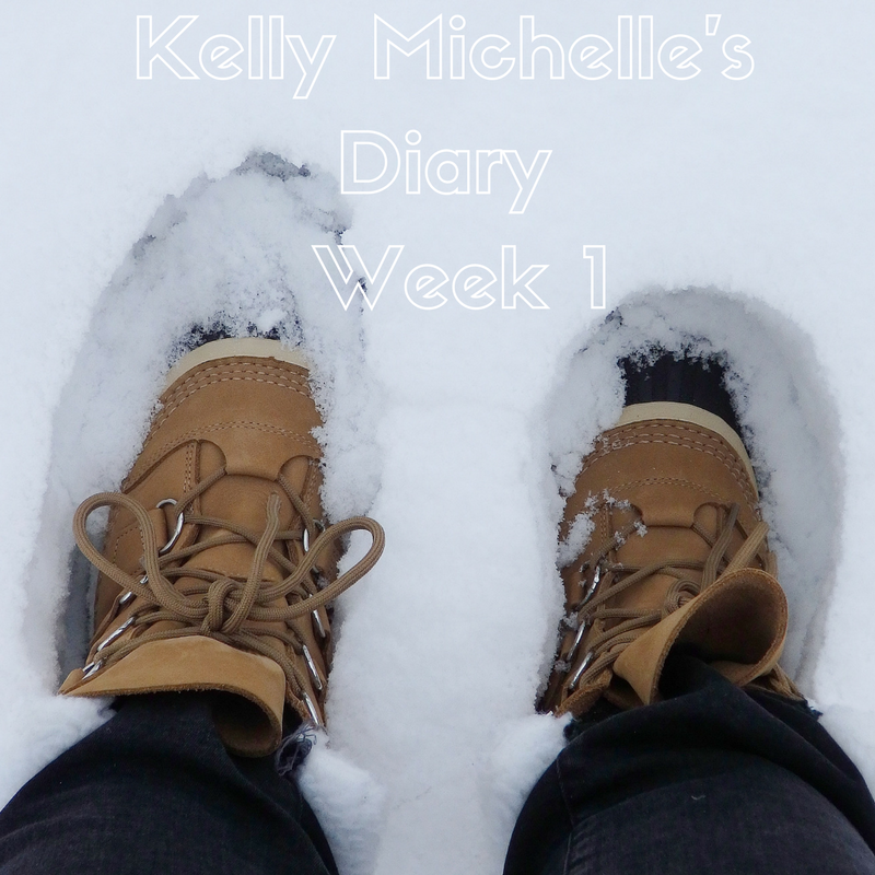 Kelly Michelle's Diary Week 1, 2018