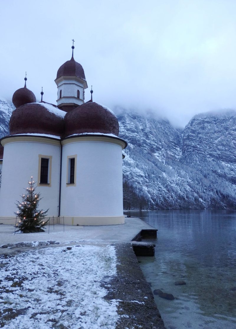 Germany Travel Inspiration - 24 Hours in Germany: Berchtesgaden & Königssee, a beautiful area of natural beauty in Germany that is well worth a visit on your next vacation to Europe.  Plus come and check out the Christmas Market!  #germany #berchtesgaden #80pairsofshoes #traveltips #beautifuldestinations #europe